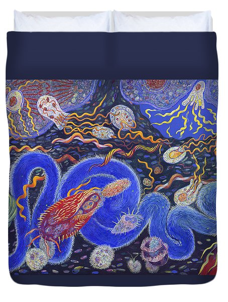 Endosymbiosis Duvet Cover