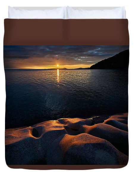 Enduring Autumn Duvet Cover