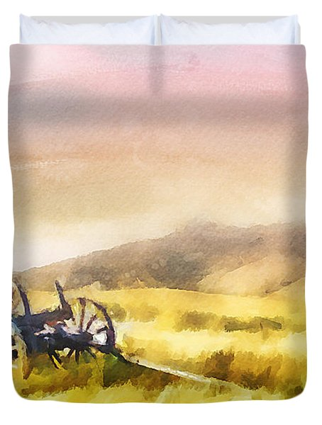 Enduring Courage Duvet Cover by Greg Collins