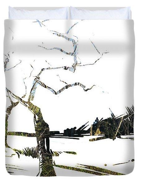 Energy . Tree Duvet Cover