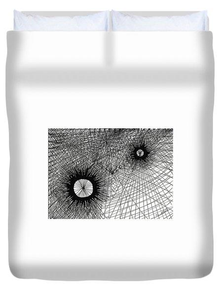 Energy Duvet Cover by Quwatha Valentine