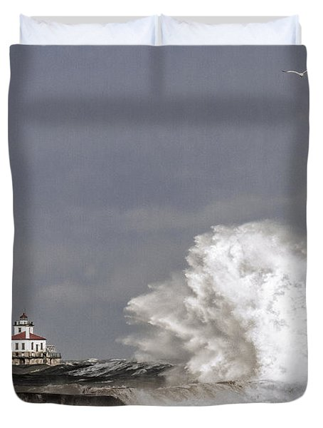 Energy Released Duvet Cover by Everet Regal