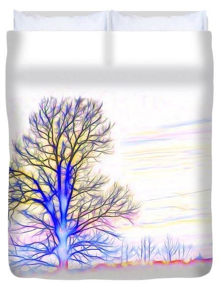 Energy Tree Duvet Cover