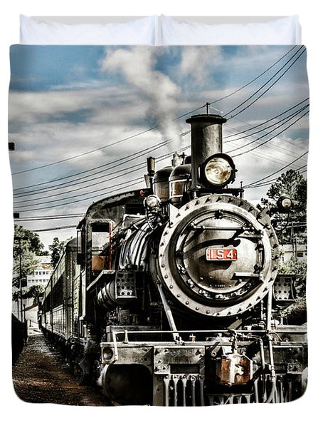 Engine 154 Duvet Cover