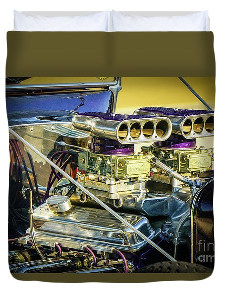 Engine 2x4 Duvet Cover