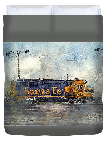 Engine 3166 Duvet Cover by Tim Oliver