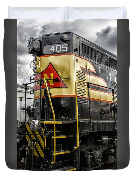Engine 405 Duvet Cover