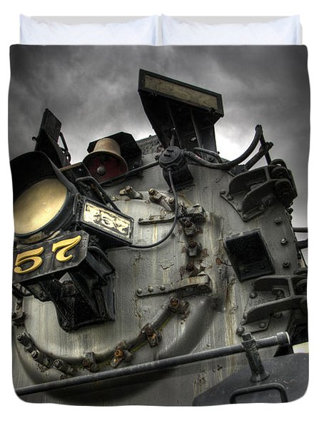 Engine 757 Duvet Cover by Scott Wyatt