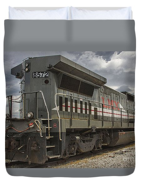 Engine 8572 Duvet Cover by JRP Photography