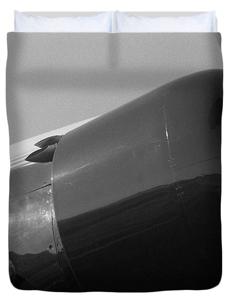 Engine Cowling Of Ju-52 Duvet Cover