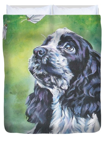 English Cocker Spaniel  Duvet Cover