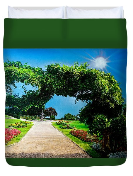 English Garden Duvet Cover