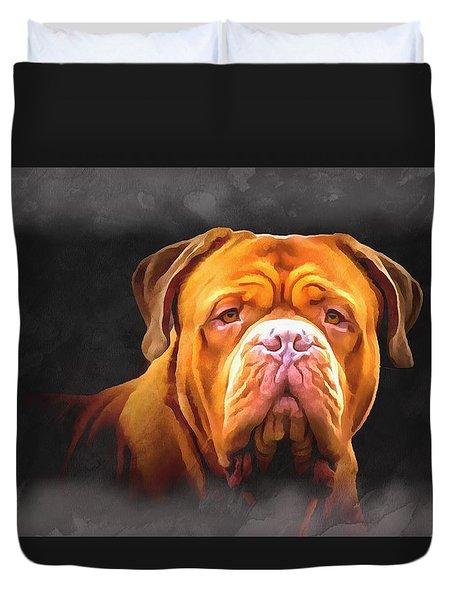 English Mastiff Duvet Cover