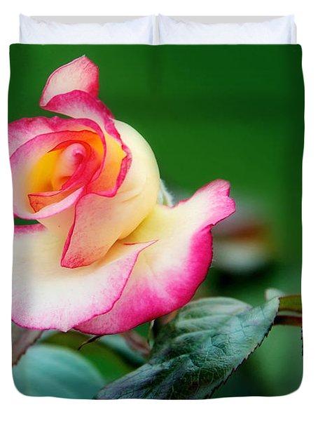 English Rose Duvet Cover by Lisa Knechtel