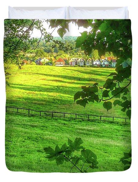 English Summer Contentment  Duvet Cover