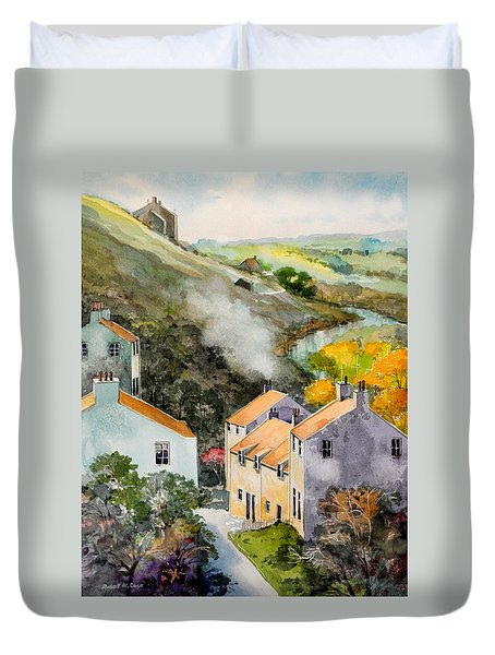 English Village Duvet Cover