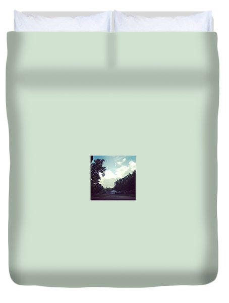 Engulfing Clouds Duvet Cover