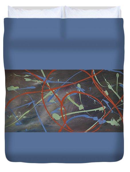 Enigma Duvet Cover by Leana De Villiers