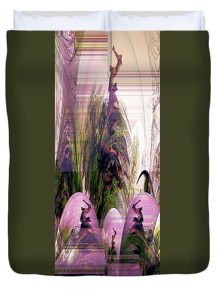 Enigma No 2 Duvet Cover