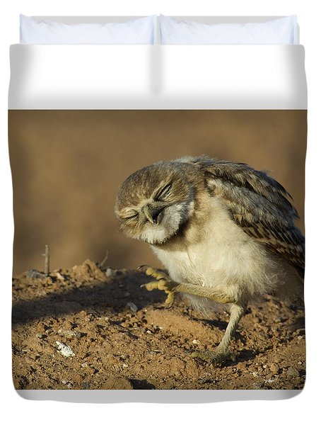Enjoy The Day Duvet Cover by Sue Cullumber