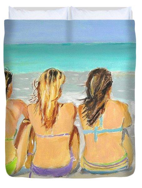 Enjoying The View Duvet Cover by Judy Kay