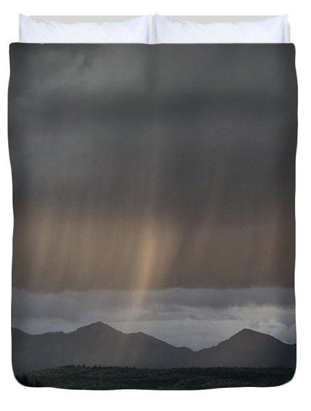 Enlightened Shafts Duvet Cover