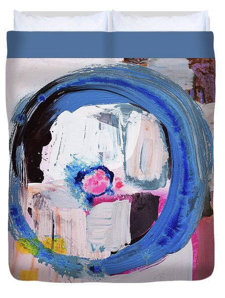 Enso, Blue Planent, Warm Heart Duvet Cover