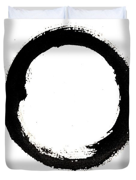 Enso Enlightenment Duvet Cover by Oiyee At Oystudio