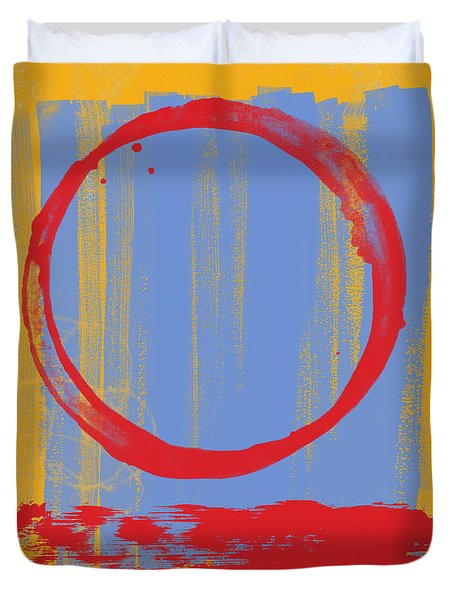Enso Duvet Cover by Julie Niemela