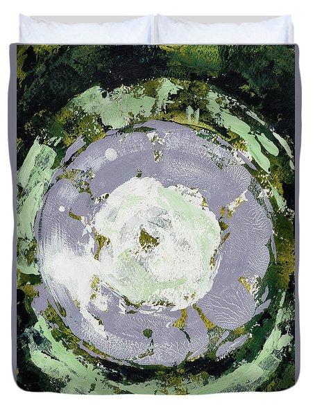 Enso Of Lavender Duvet Cover