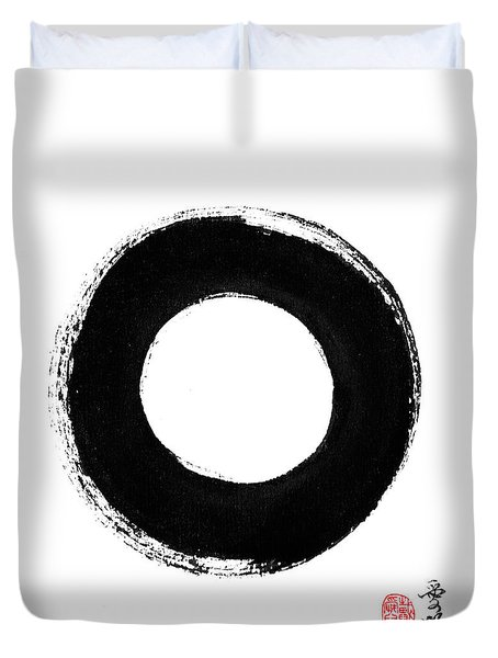 Enso - Pursuing Perfection Duvet Cover