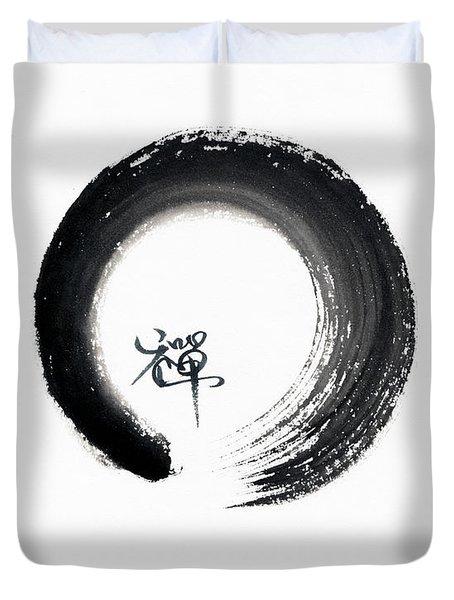 Enso Zen Duvet Cover
