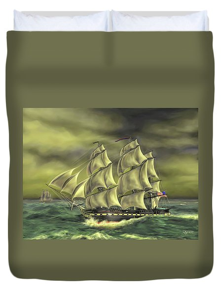 Ensuring Liberty Duvet Cover