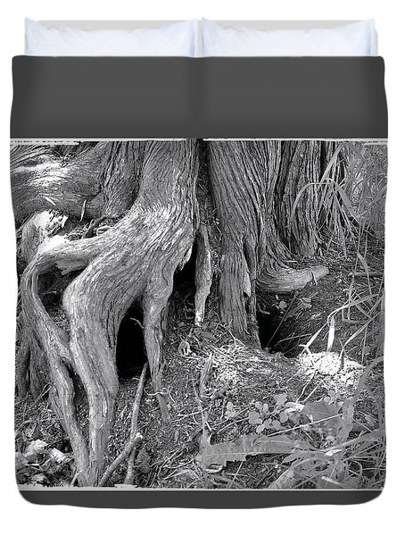 Ent Foot Duvet Cover
