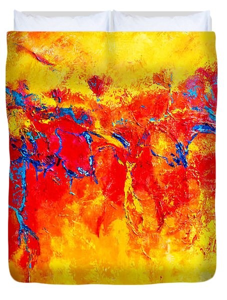 Entangled No. 2 A Reflection Of Life Duvet Cover