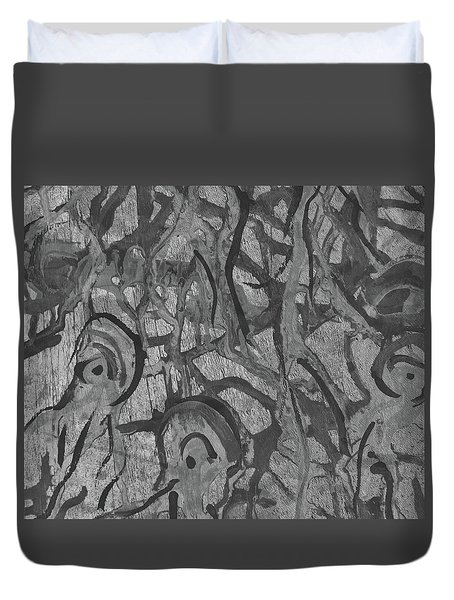 Entangled Thoughts Duvet Cover