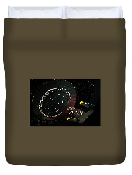 Duvet Cover featuring the photograph Enterprise by Kristin Elmquist