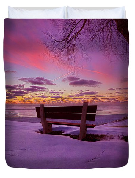 Duvet Cover featuring the photograph Enters The Unguarded Heart by Phil Koch