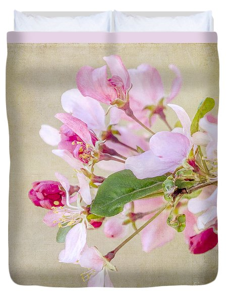 Duvet Cover featuring the photograph Enticement by Betty LaRue