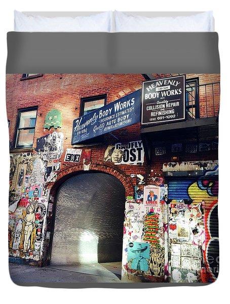 Entrance Duvet Cover by Beth Saffer
