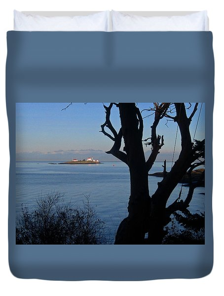 Entrance Island, Bc Duvet Cover