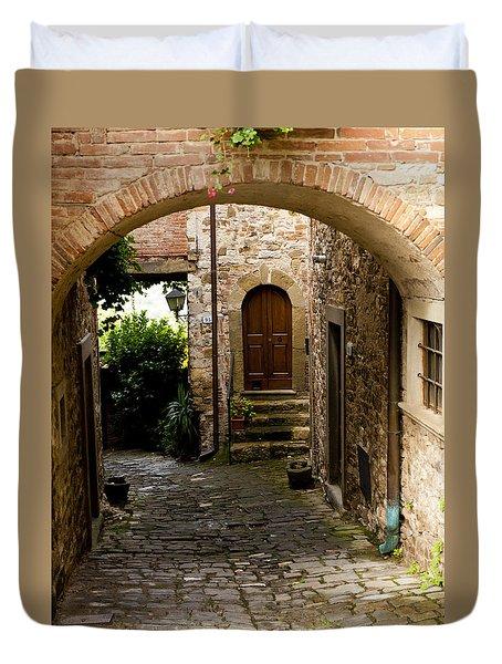 Entrance Duvet Cover by Rae Tucker