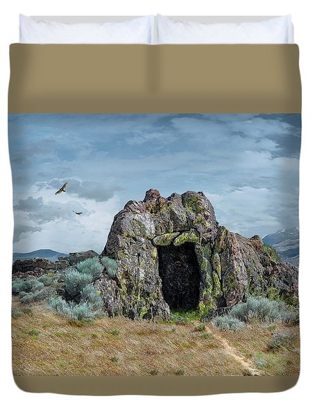 Entrance To Khazad Dum  Duvet Cover