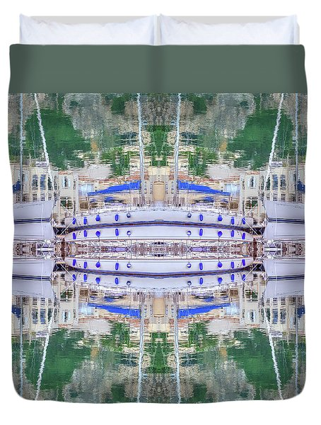 Entranced Duvet Cover by Keith Armstrong