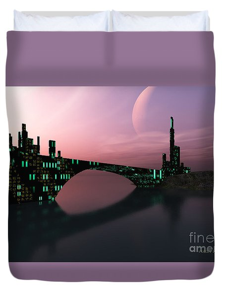 Entrancement Duvet Cover by Corey Ford