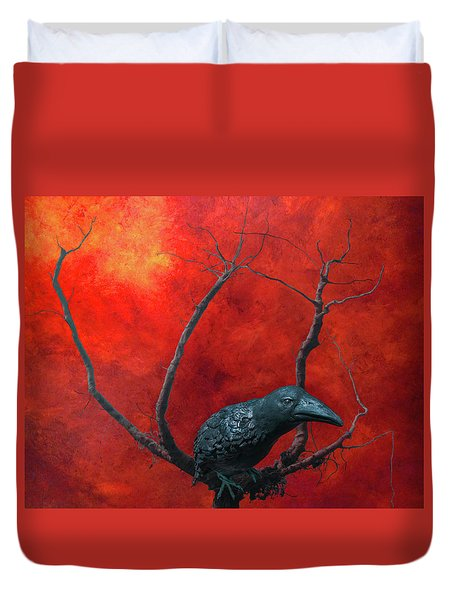 Environment 2050 Duvet Cover by Jeff Burgess