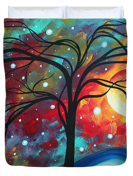 Envision The Beauty By Madart Duvet Cover by Megan Duncanson