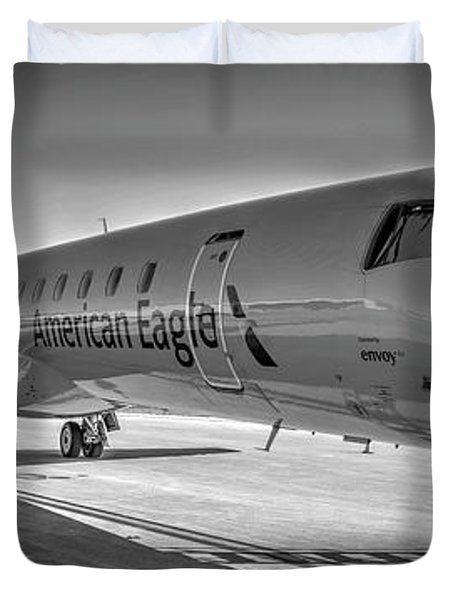 Envoy Embraer Regional Jet Duvet Cover