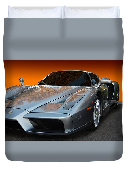Enzo Duvet Cover by Bill Dutting