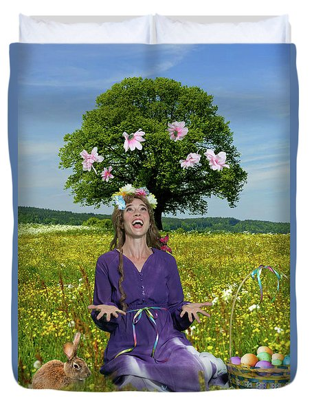 Eostre Duvet Cover by David Clanton